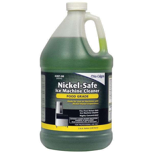 Nu-Calgon 4287-08 1 Gallon Nickel-Safe Food-Grade Ice Machine Cleaner - 4/Case Main Image 1