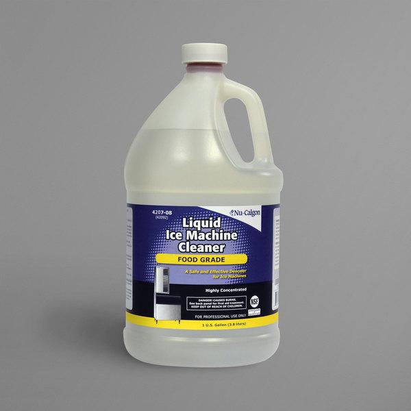 Nu-Calgon 4207-08 1 Gallon Food Grade Liquid Ice Machine Cleaner - 4/Case Main Image 1
