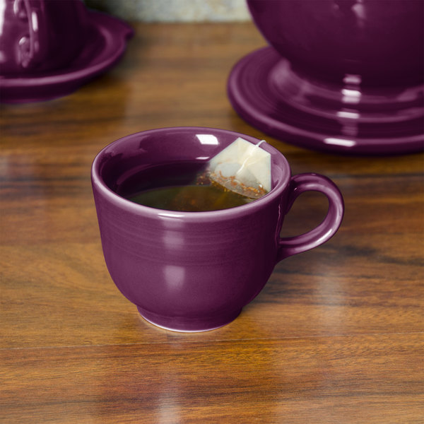 Homer Laughlin 452343 Fiesta Mulberry 7.75 oz. China Cup - 12/Case