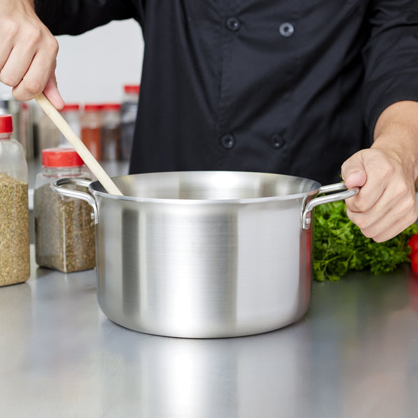 Vollrath 77519 Tribute 6 Qt. Stainless Steel Sauce / Stock Pot