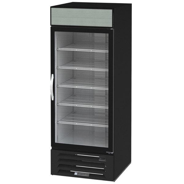 """Beverage-Air MMF27HC-1-B Marketmax 30"""" Black Glass Door Merchandising Freezer - 26.57 Cu. Ft."""