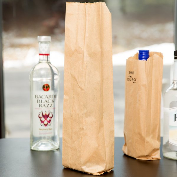 Duro Qt. Size Brown Paper Bag - 500/Bundle