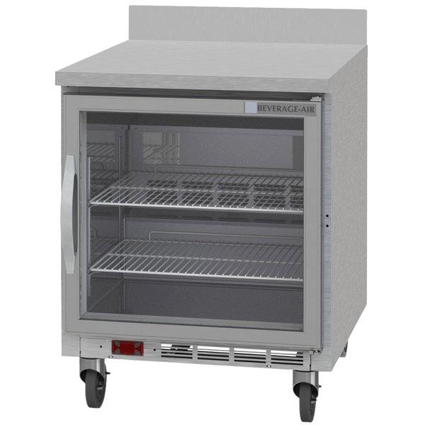 "Beverage-Air WTR27AHC-25 27"" Worktop Refrigerator Main Image 1"