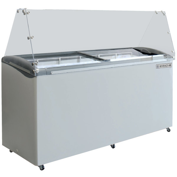 """Beverage-Air BDC-HC-12 Hydrocarbon Series 68"""" Ice Cream Dipping Cabinet"""