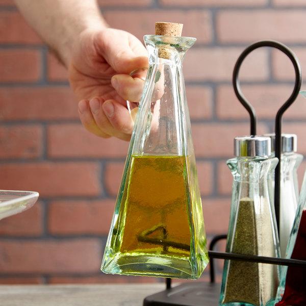 Tablecraft 617 Marbella 12 oz. Oil & Vinegar Cruet