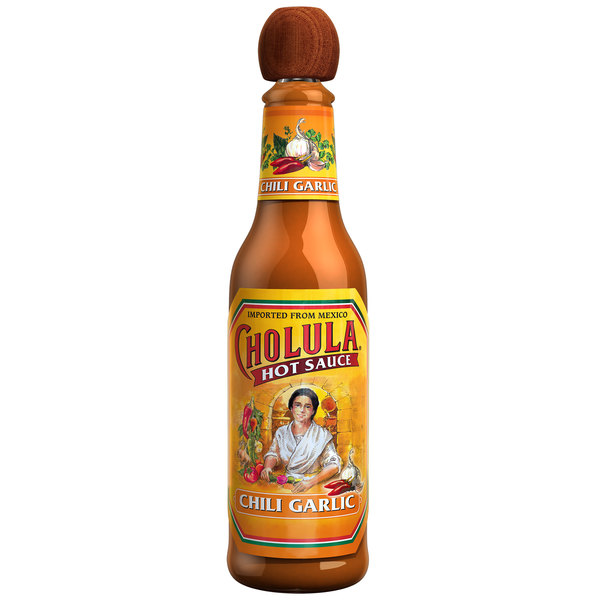 Cholula 5 oz. Chili Garlic Hot Sauce - 12/Case