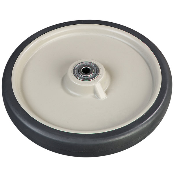 "Carlisle IC222WH00 10"" Ice Caddy Replacement Wheel for IC220 Ice Caddies Main Image 1"