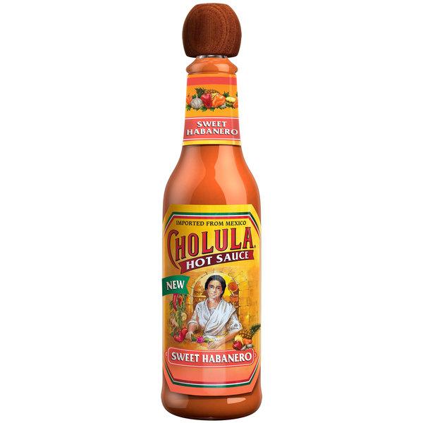 Cholula 5 oz. Sweet Habanero Hot Sauce - 12/Case