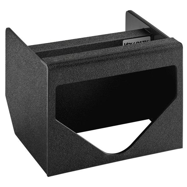Vollrath MW-1 ModuServ Black Flush-Mount Tissue Dispenser Main Image 1