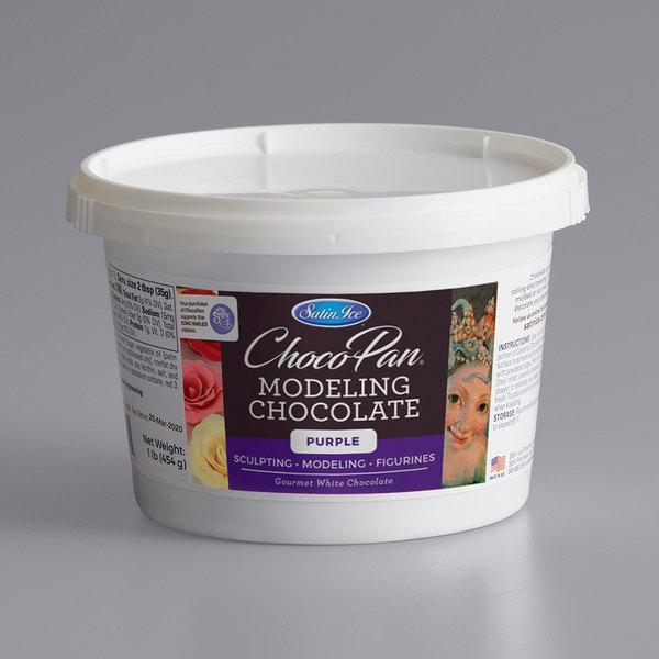 Satin Ice ChocoPan 1 lb. Purple Modeling Chocolate