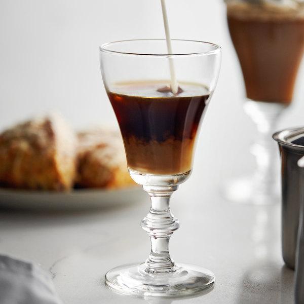 Libbey 8054 Georgian 6 oz. Irish Coffee Glass - 36/Case Main Image 2