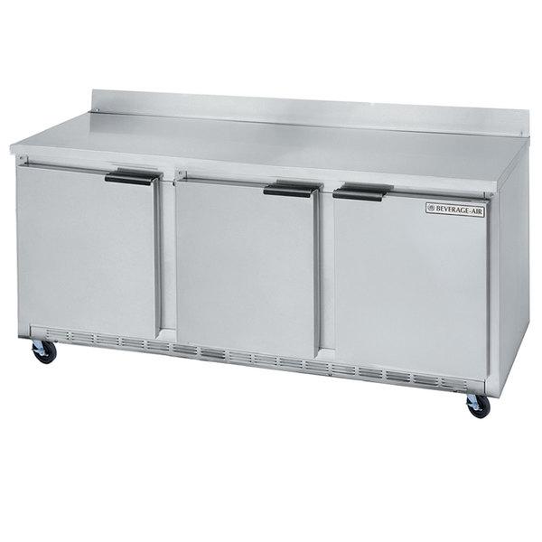 """Beverage-Air WTR72AHC 72"""" Worktop Refrigerator"""