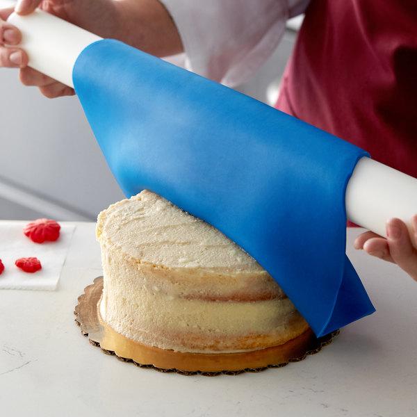 Satin Ice ChocoPan 1 lb. Blue Covering Chocolate