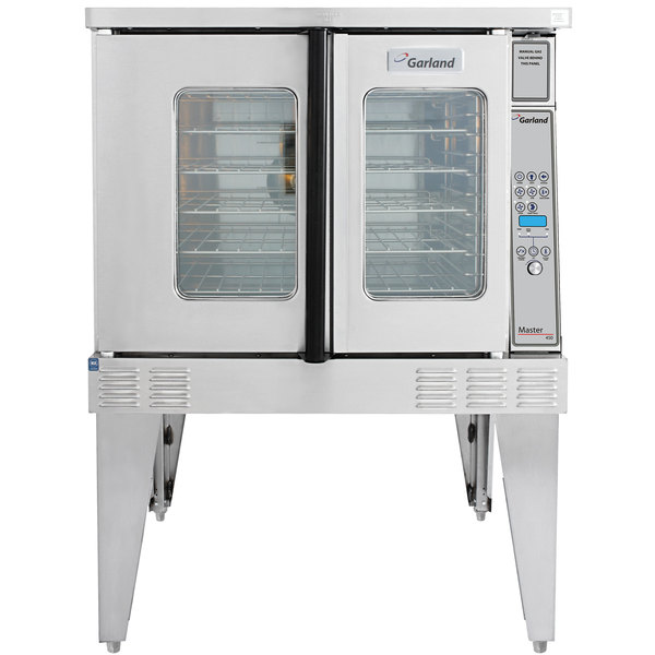 Garland MCO-ED-10 Single Deck Deep Depth Full Size Electric Convection Oven - 240V, 1 Phase, 10.4 kW Main Image 1