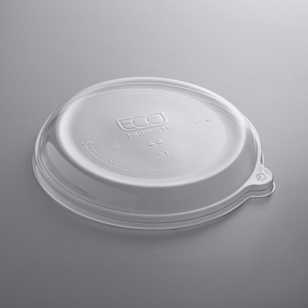 Eco-Products EP-SCR9LID Bulk WorldView 100/% Recycled Content Lid Fits 9in Round Sugarcane Take Out Containers 600 Sugarcane Take Out Lids