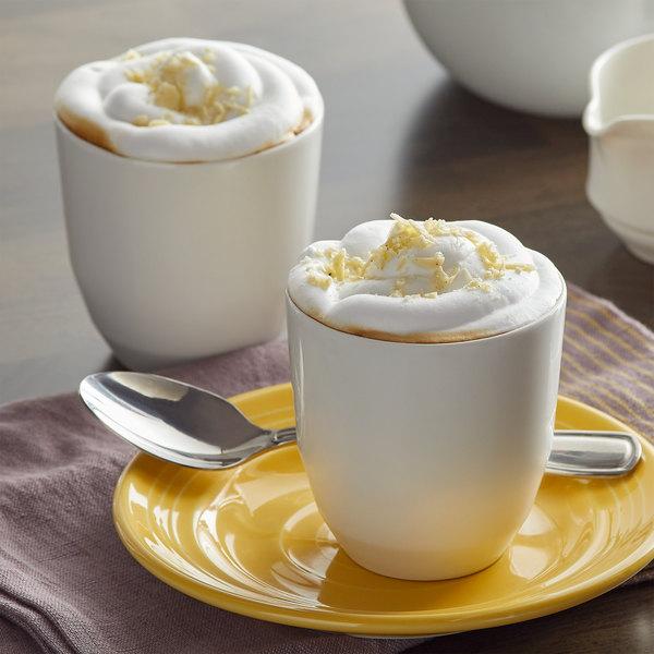 UPOURIA™ 2 lb. Fat Free French Vanilla Cappuccino Mix - 6/Case