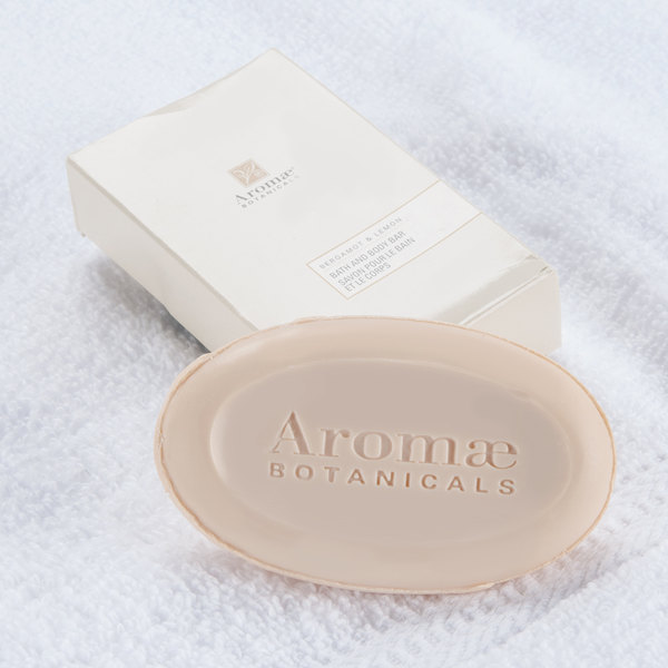 Aromae Botanicals Bergamot and Lemon Bath and Body Bar 1.35 oz. - 200/Case