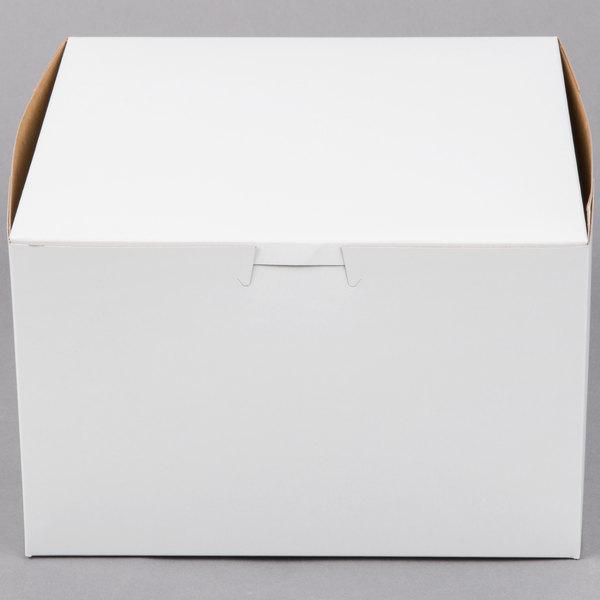 """5 x 12/"""" x 9/"""" x 6/"""" Inch Oblong 2 Piece Cake Box"""