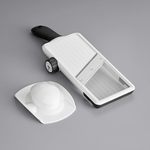 OXO 11135900 Good Grips Adjustable Hand-Held Mandoline Slicer Main Image 1
