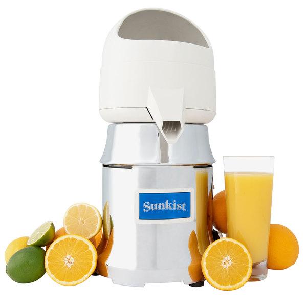 Sunkist J-4 Commercial Citrus Juicer - 230V, 3450 RPM (International Use Only) Main Image 1
