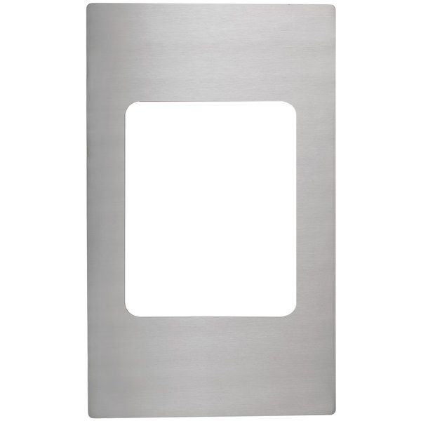 Vollrath 8242814 Miramar Stainless Steel Adapter Plate for Small Food Pan Main Image 1