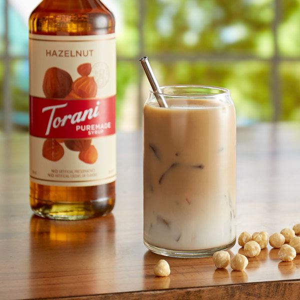 Torani 750 mL Puremade Hazelnut Flavoring Syrup Main Image 2