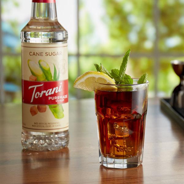 Torani 750 mL Puremade Pure Cane Sugar Flavoring Syrup Main Image 2