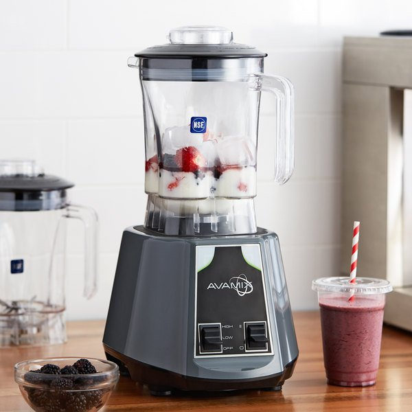 Avamix BL2T48 2 hp Commercial Blender with Toggle Control and 48 oz. Polycarbonate Container Main Image 3