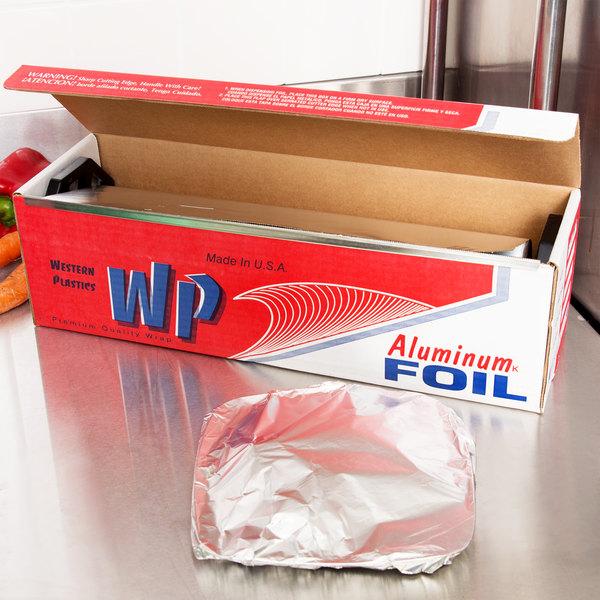 """15"""" x 1000' Food Service Standard Aluminum Foil Roll"""