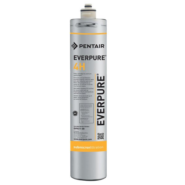 Everpure EV961100 4H Filter Cartridge - 0.5 Micron Rating and 0.5 GPM Main Image 1