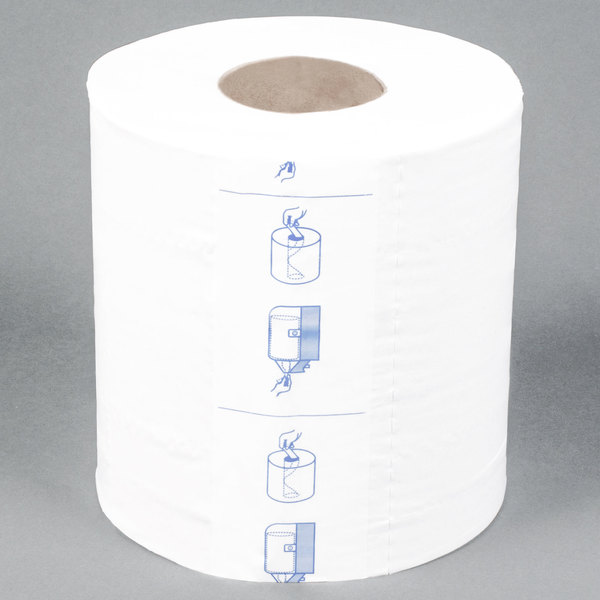 Paper Towel. Merfin 725 2 Ply Center Pull Paper Towel 600  Roll 6 Case