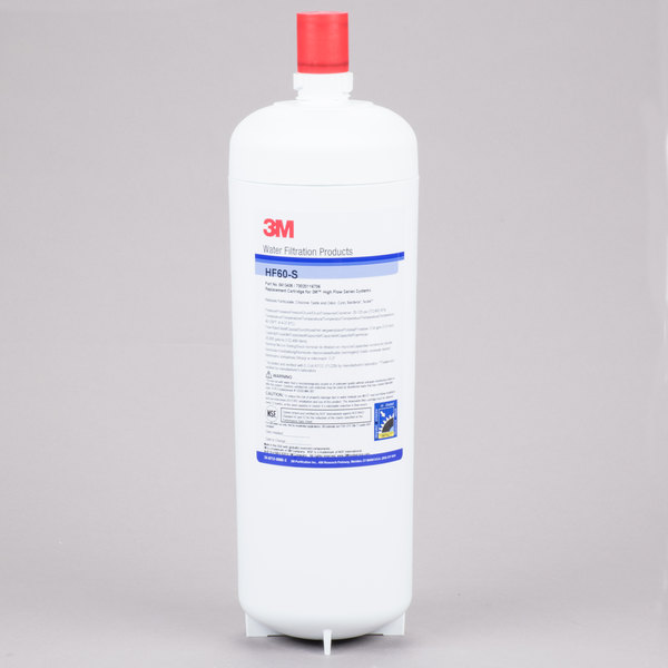 3M Water Filtration Products HF60-CL High Flow Series Replacement Water Filter Cartridge - 0.2 Micron and 2.2 GPM Main Image 1