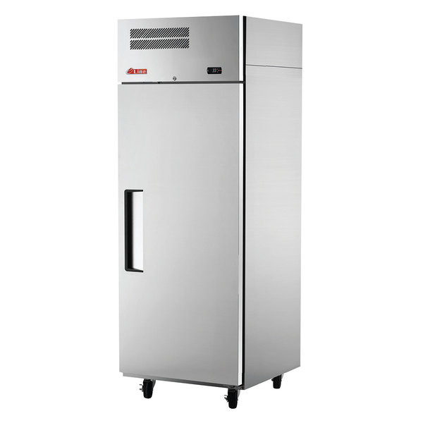 "Turbo Air ER24-1-N E-Line 28"" Solid Door Reach-In Refrigerator"