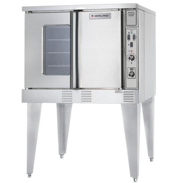 U.S. Range SUMG-GS-10ESS LP Summit Series Liquid Propane Single Deck Full Size Convection Oven - 53,000 BTU Main Image 1