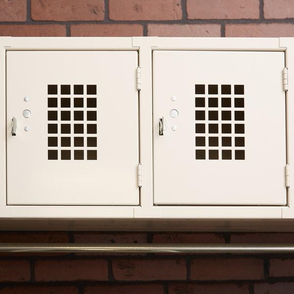 "Winholt WL-4 Four Door Horizontal Wall Mount Locker - 45"" x 18"""
