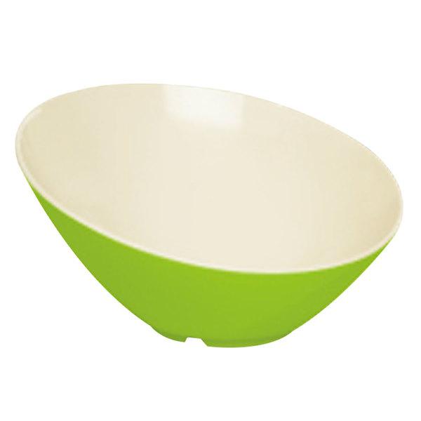 GET B-788-KL Keywest 16 oz. Keylime Slanted Melamine Catering Bowl Main Image 1