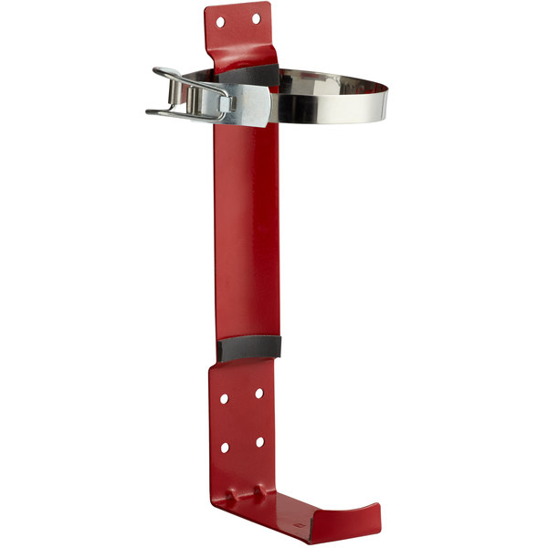 Buckeye 5 lb. and 5.5 lb. Dry Chemical and Halotron Fire Extinguisher Vehicle Bracket Main Image 1