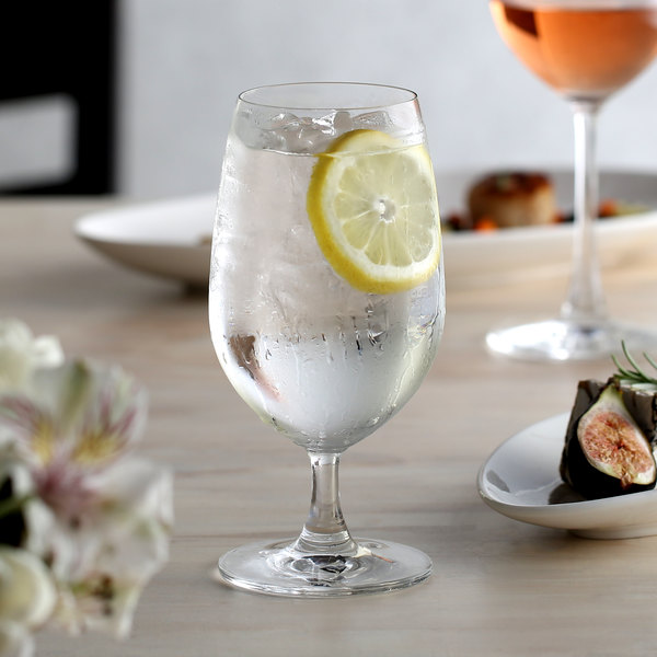 Acopa Covella 14 oz. Glass Goblet - 12/Case Main Image 2