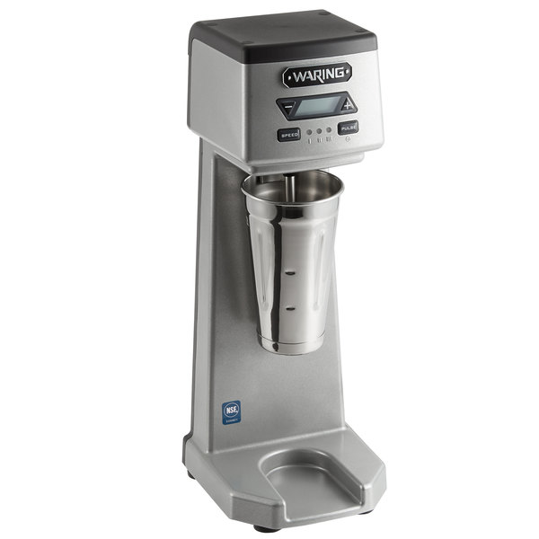 Waring WDM120TX Single Spindle Three Speed Drink Mixer with Timer - 120V, 375W