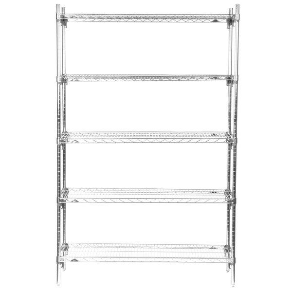 5A357C Stationary Super Erecta Adjustable 2 Series Chrome Wire ...