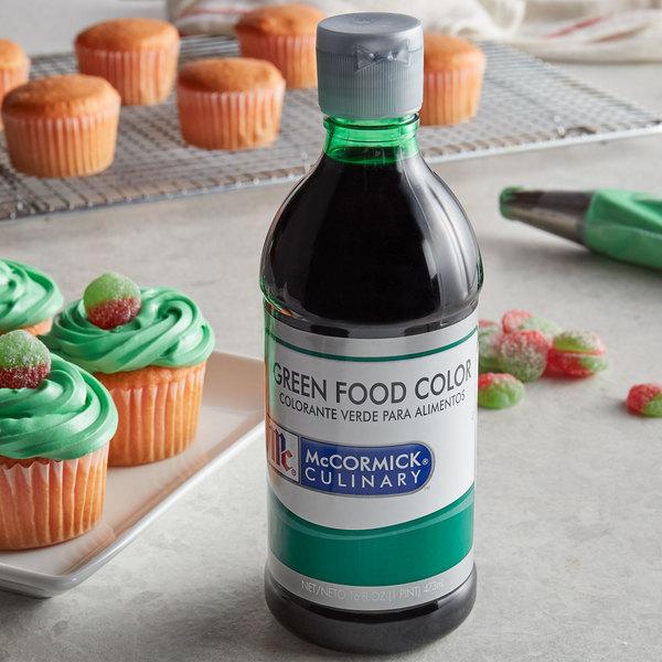 McCormick 16 oz. Green Food Color
