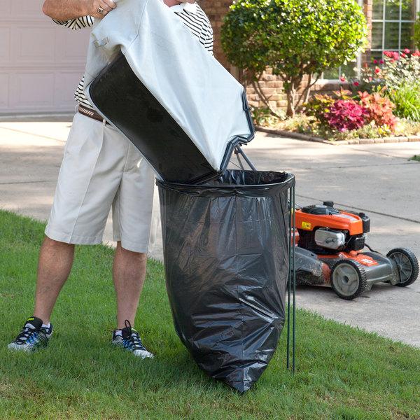 Devault Dev100 01 Ez Bagger Portable Outdoor Trash Bag Holder