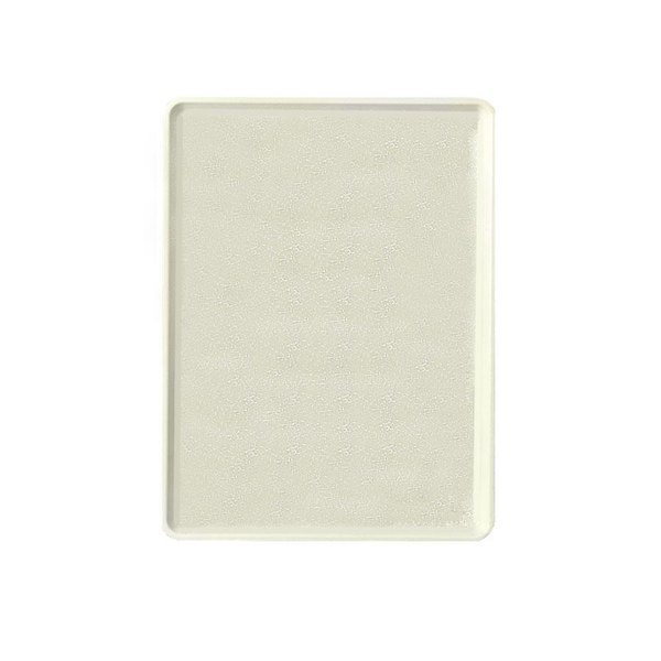 """Cambro 1520D526 15"""" x 20"""" Galaxy Antique Parchment Gold Patterned Dietary Tray - 12/Case"""