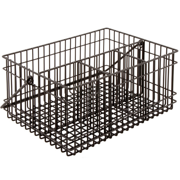 GET WB-306-MG Breeze Metal Gray Condiment Basket