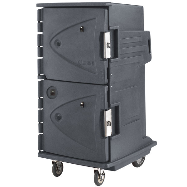 Cambro CMBHC1826TBF191 Granite Gray Camtherm Electric Food Holding Cabinet Tall Profile - Hot / Cold
