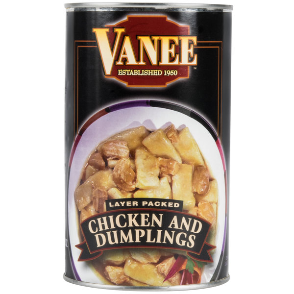 48 oz. Can Chicken and Dumplings - 12/Case