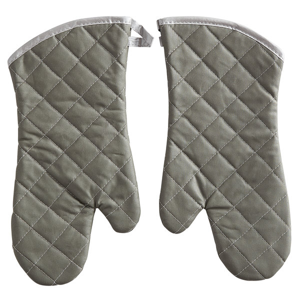 Choice 15 inch Flame Retardant Oven Mitts