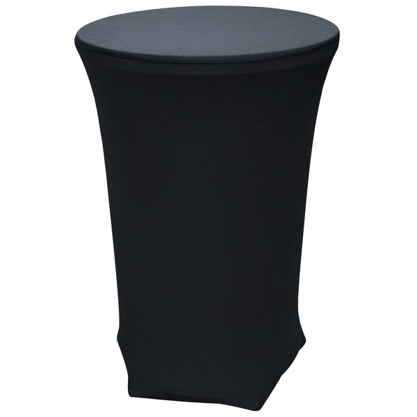 Snap Drape TS2843014 Cocktail Table-In-A-Snap Kit with Table and Black Cover Main Image 1