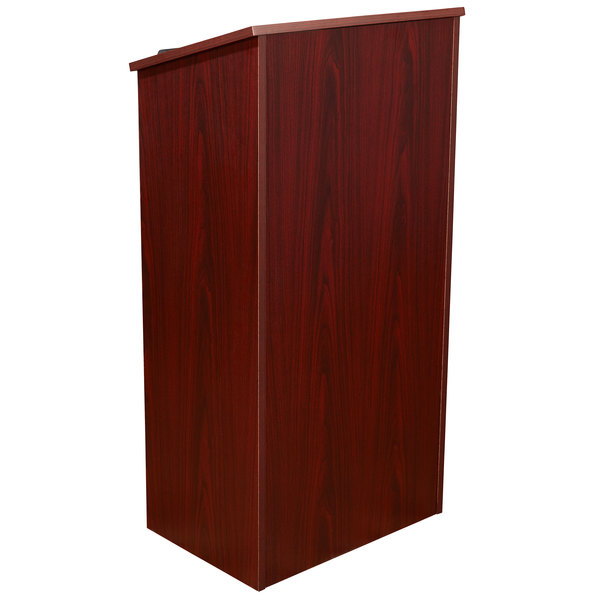 Oklahoma Sound 222-MY Mahogany Finish Lectern Main Image 1