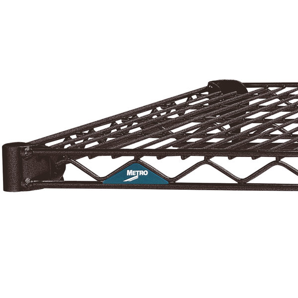 """Metro 1872N-DCH Super Erecta Copper Hammertone Wire Shelf - 18"""" x 72"""""""